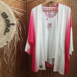 Collection – KIMONOS – TIE AND DYE PINK –