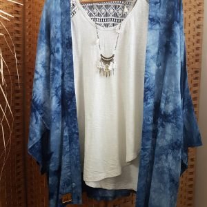 Collection – KIMONOS – TIE AND DYE BLUE –