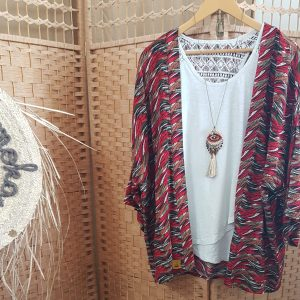 Collection – KIMONOS – AFRICA RED –